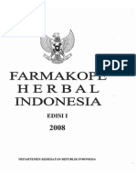 Farmakope Herbal Indonesia Ed i 2008