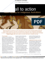 A Call to Action Indigenous Health Issues