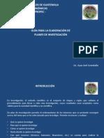 """Guia Para Hacer El Plan de Investigaciã""""n"""