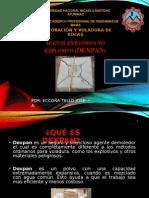 DEXPAN AGENTE NO EXPLOSIVO
