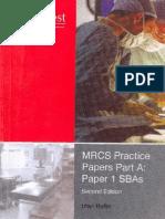 MRCS Practice Paper