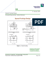 PIP Code_Spread Footing Design