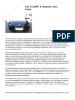 Venta De Vehiculos De Ocasión Y Segunda Mano Procedentes De Renting