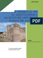 Filosofía Medieval en El Cristianismo - San Agustín - Santo Tomás de Aquino