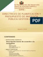 Presentación Directrices 2015-V1 GAD