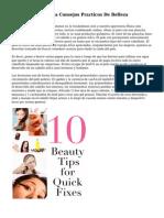 Consejos De Belleza Consejos Practicos De Belleza