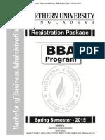 BBA Pakage Banani Campus Spring-2015