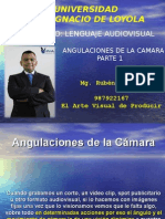LENGUAJE AUDIOVISUAL.  TIPO DE ANGULOS PARTE 1