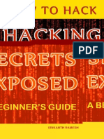Hacking Secrets Exposed - A Beginner's Guide - January 1 2015