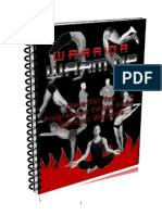 Warrior Warm Up Follow Along E Book