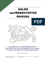 CH Sales Representative Manual