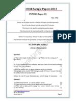 Question Paper 1 2013