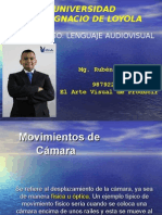 LENGUAJE AUDIOVISUAL.  MOVIMIENTOS DE CAMARA PARTE 1