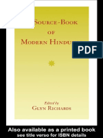 Glyn Richards (Ed) - A Sourcebook of Modern Hinduism
