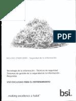 ISO 27001-2013 español