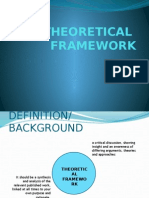 Theoretical and Conceptual Framework