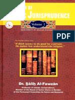 A Summary of Islamic Jurisprudence Volume 1