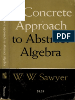 Sawyer AConcreteApproachToAbstractAlgebra