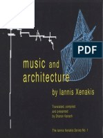Xenakis, Iannis - Music and Architecture