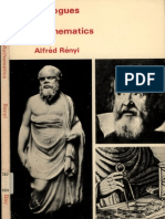 Dialogues On Mathematics - Alfred Renyi