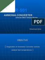 R-501 Uneven Bed Temperatures