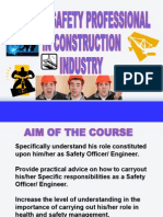 Role of Safety Professional in Construction Industry