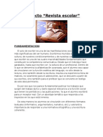 Proyecto Revista escolar