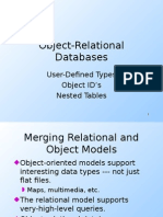 Object Relational Database Eng
