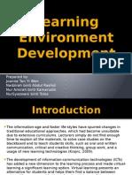 Learning Environment Development