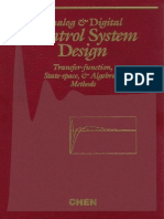 Chi-Tsong Chen-Analog and Digital Control System Design-Saunders College Publishing (1993)