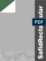 Duct Area Diagram and Area Calculation Formula