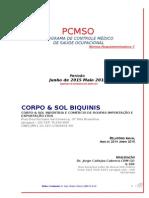 Corpo e Sol PCMSO 2015