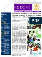RC Holy Spirit the Dove Vol. Viii No. 5 August 4, 2015