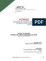 Bellas Artes PCMSO 2014
