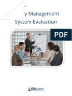 Safety Management and System Evaluation