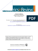 Peretusis Pediatrics in Review 2012 pertusis