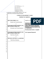 MDY Industries, LLC v. Blizzard Entertainment, Inc. et al - Document No. 45