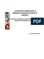 10. Revolucion Bolivariana y Debates Educativos Para El Camb
