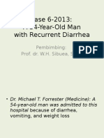 Recurrent Diarrhea