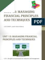 Unit 13 -Investment