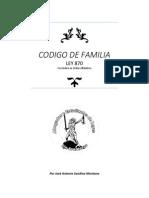 Codigo de Familia Con Indice en Orden Alfabetico