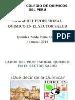 Rol Del Quimico Sector Salud