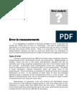 CHEM 104-Error in Measurements 2010