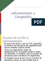 Congestión TCP