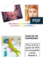 Vida de Don Bosco y Madre Mazzarello