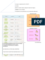 Área y perímetro de figuras planas