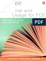 Test Your Grammar and Usage for FCE