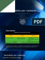 Dermatitis Por Contacto