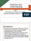 Etnobotani Dan Etnofarmakologi