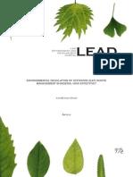 ENVIRONMENTAL REGULATION OF OFFSHORE (E&P) WASTE MANAGEMENT